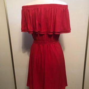 Lush Dresses - Off the shoulder dress